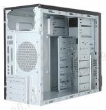 Корпус mATX InWin EMR002 450W 2xUSB2.0 MiniTower Black-Silver