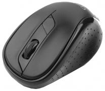 Мышь Gembird MUSW-310 беспроводная черная, 2кнопки+колесо-кнопка, 2.4ГГц, 1000dpi