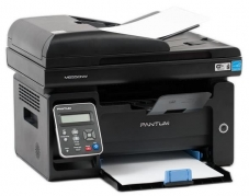 МФУ лазерное монохромное Pantum M6550NW (A4, принтер/сканер/копир, ADF, LAN, Wi-Fi)