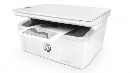 МФУ лазерное монохромное HP LaserJet Pro M28w (A4, принтер/сканер/копир, Wi-Fi) (W2G55A)