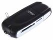 Кардридер USB 3.0 GINZZU GR-312B 2-in-1 (2xSD, 2xmicroSD), поддерживает чтение с двух SD/microSD одновременно, черный