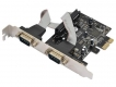 Контроллер PCI-E x1 2xCOM (OEM)