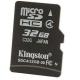 Карта памяти microSD 32Gb Kingston Class 4 без адаптера (SDC4/32GBSP)