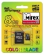 Карта памяти microSD 8Gb Mirex Class 4 с адаптером (13613-ADTMSD08)