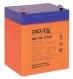 Аккумулятор для ИБП, 12V, 5Ah HR1221 (Delta)