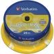 Диск DVD+RW Mirex 4.7Gb 4х cake box 25шт
