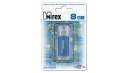 Флэш-диск 8Gb Mirex Unit Aqua Blue