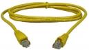 Патч-корд UTP Cat.5e литой 1м желтый (Gembird PP12-1M/Y)