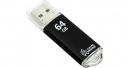 Флэш-диск 64Gb Smartbuy V-Cut Black USB 3.0 (SB64GBVC-K3)