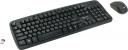 Клавиатура Gembird KBS-7003 (беспр.клавиатура+беспр.мышь) 2.4ГГц/10м, мышь с покрытием soft touch 1200DPI, 11 доп.клавиш, мини-приемник USB черная