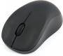 Мышь Gembird MUSW-218 soft touch 1200dpi беспроводная черная