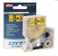 """Картридж с лентой к этикет-принтеру DYMO D1 S0720680 (9мм/7м) Standard Tape 40913 3/8"""" черный шрифт на белом фоне"""