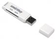 Карт-ридер USB2.0 Reader Smartbuy SBR-715-W белый