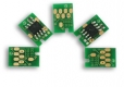Чип для картриджа HP CLJ 4600/4600n/4600dn/4600dtn/4610/4650/4650n/4650dn/4650dtn/Canon LBP-2510 (Yellow)
