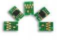 Чип для картриджа HP CLJ 4600/4600n/4600dn/4600dtn/4610/4650/4650n/4650dn/4650dtn/Canon LBP-2510 (Cyan)