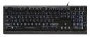 Клавиатура игровая с подсветкой Smartbuy RUSH 601 USB черная