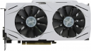 Видеоадаптер PCI-E ASUS GeForce GTX1060 6144Mb DUAL-GTX1060-O6G (RTL) GDDR5 192bit DVI-D/2xHDMI/2xDP