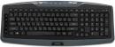 Клавиатура Jet.A SlimLine K17 W беспроводная мультимедийная с 14 клавишами быстрого доступа серая USB