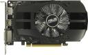 Видеоадаптер PCI-E ASUS GeForce GTX1050 2048Mb PH-GTX1050-2G (RTL) GDDR5 128bit DVI-D/HDMI/DP