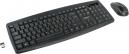 Клавиатура Gembird KBS-8000 (беспр.клавиатура+беспр.мышь) 1600DPI 2.4ГГц/10м мини-приемник USB черная