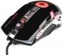 Мышь Gembird MG-530 игровая USB, 5кнопок+колесо-кнопка+кнопка огонь, 3200DPI, подсветка, 1000 Гц, ПО для создания макросов