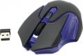 Мышь Jet.A Comfort OM-U57G беспроводная чёрно-синяя (800/1200/1600dpi) 3 кнопки USB