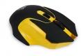 Мышь Jet.A Comfort OM-U57G беспроводная чёрно-желтая (800/1200/1600dpi) 3 кнопки USB