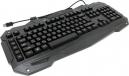 Клавиатура Gembird KB-G200L игровая, USB, подсветка 7 цветов, создание макросов, кабель ткан. 1.8м
