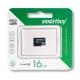 Карта памяти microSD 16Gb Smartbuy Class 4 без адаптера (SB16GBSDCL4-00)