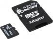 Карта памяти microSD 32Gb Smartbuy Class 10 UHS-I с адаптером (SB32GBSDCL10-01)
