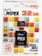 Карта памяти microSD 32Gb Mirex Class 10 UHS-I с адаптером (13613-ADSUHS32)
