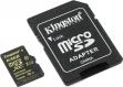 Карта памяти microSD 64Gb Kingston Class 10 UHS-I U3 с адаптером (SDCG/64GB)