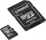 Карта памяти microSD 64Gb Kingston Class 10 UHS-I с адаптером (SDCS/64GB)