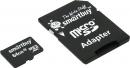 Карта памяти microSD 64Gb Smartbuy Class 10 UHS-I с адаптером (SB64GBSDCL10-01)