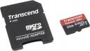 Карта памяти microSD 64Gb Transcend Class 10 UHS-I с адаптером (TS64GUSDU1)