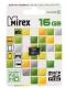 Карта памяти microSD 16Gb Mirex Class 10 без адаптера (13612-MC10SD16)