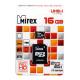 Карта памяти microSD 16Gb Mirex Class 10 UHS-I без адаптера (13612-MCSUHS16)