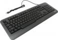 Клавиатура Gembird KB-230L USB черная 104кл, подсветка 3 цв, кабель 1.45м