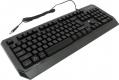 Клавиатура Gembird KB-G20L игровая, USB черная 104кл, синяя подсветка, FN, кабель 1.75м