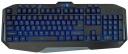Клавиатура Jet.A GamingLine K19 LED проводная с классической раскладкой и светодиодной подсветкой, 110 клавиш, USB, чёрная