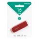 Флэш-диск 16GB Smartbuy Dock Red (SB16GBDK-R)