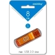 Флэш-диск 8Gb Smartbuy Glossy Series Orange (SB8GBGS-Or)