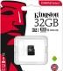 Карта памяти microSD 32Gb Kingston Class 10 UHS-I без адаптера (SDCS/32GBSP)