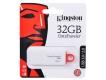 Флэш-диск 32Gb Kingston DataTraveler G4 USB3.0 белый/красный (DTIG4/32GB)