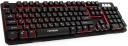 Клавиатура Гарнизон GK-300G игровая, металл, 3 различные подсветки, USB, черная, антифантомные и механизированные клавиши