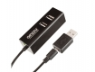 Кардридер microUSB/USB GINZZU GR-564UB 2-in-1 (SD, microSD), 3xUSB 2.0