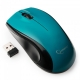Мышь Gembird MUSW-320-B беспроводная голубая, 3кн, 2.4ГГц, 1000DPI