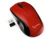 Мышь Gembird MUSW-320-R беспроводная красная, 3кн, 2.4ГГц, 1000DPI