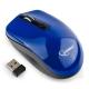 Мышь Gembird MUSW-400-B  беспроводная голубая, бесшумный клик, 3кн.+колесо-кнопка, 2.4ГГц, 1600 dpi