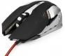 Мышь Гарнизон GM-760G игровая Арктур 2, код Survarium, USB черная, чип Х3, софт тач, 2000 DPI, 6 кн.+колесо-кнопка